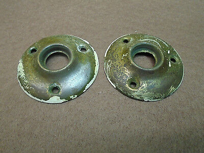 "Matched Set Vintage  Brass Escutcheons / Rossetes  2"" Diameter!   (2768-7)"