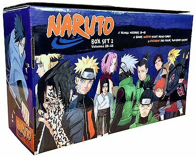 Naruto Box Set 2: 22-48 Complete Childrens Gift Set Collection Masashi Kishimoto