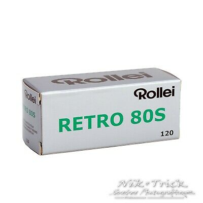 Rollei Retro 80S 120 Roll - Great for Portraits or Infra-red ~ Freshest UK Stock
