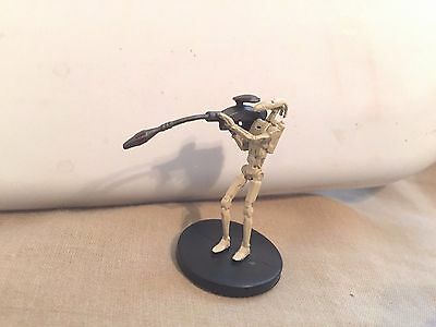 Star Wars Miniatures Clone Wars #23/40 Battle Droid Sniper - NC