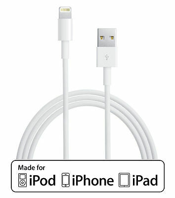 10ft Apple Certified MFI Lightning USB Charger Cable iPhone 5S SE 6S 7 8 X Plus