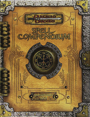 D&D Premium 3.5 Edition Dungeons & Dragons Spell Compendium NEW in Shrink