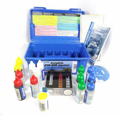 Taylor K-2006 Complete FAS-DPD Chlorine Swimming Pool Water Test Kit K2006