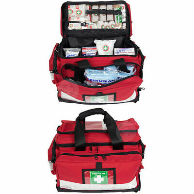 509pc Paramedic/Emergency First Aid Kit Survival Treatment Medical Injuries