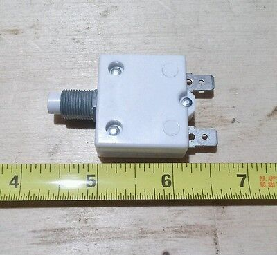 Mechanical Products 15 amp push button reset circuit breaker #1600-037-150