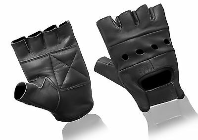 Brand New Real Sheep Nappa Leather Padded Bus Driver Driving Gloves Chauffeur