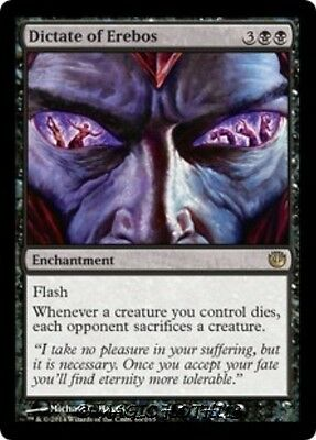 DICTATE OF EREBOS Journey into Nyx MTG Black Enchantment RARE