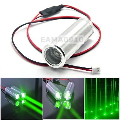 1pc 3.6-4.2V 532nm 50mW Green Laser Module Dot Thick Beam Bar Stage Light 22x70