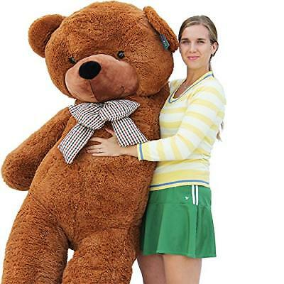 "Joyfay® 78"" Giant Teddy Bear Dark Brown Huge Stuffed Valentine Gift 200cm"