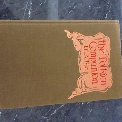 Hardcover The Tolkien Companion J.E.A Tyler
