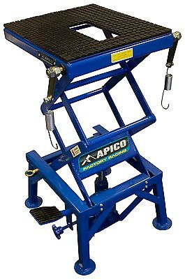 APICO motocross enduro MX motorcycle workshop hydraulic scissor lift stand  PIT