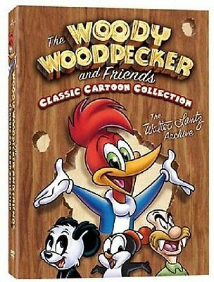 The Woody Woodpecker And Friends Classic Cartoon Collection Vol. 1 . 3 DVD . NEU