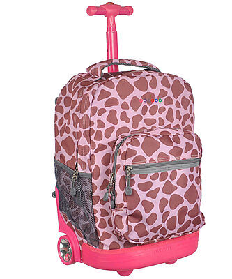 """J World """"Move Out"""" Rolling Backpack"""