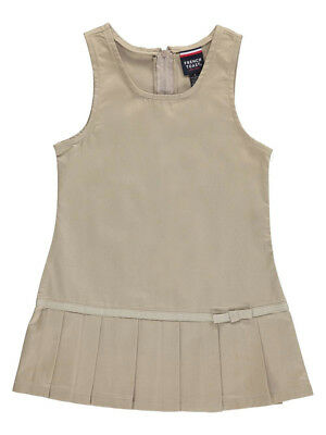"French Toast Little Girls' ""Pleat Bow"" Jumper (Sizes 4 - 6X)"