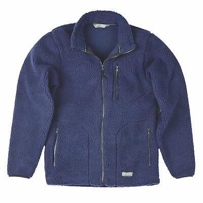 Full Zip Sherpa Fleece Jacket Breathable Thermal Ideal Autumn / Winter RRP £28