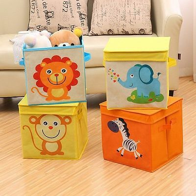 Waterproof Collapsible Large Box Storage Pouch Basket Storage Bins Boxes Toys