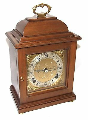 Walnut GARRARD 112 Regent Street London Bracket Mantel Clock by ELLIOTT LONDON