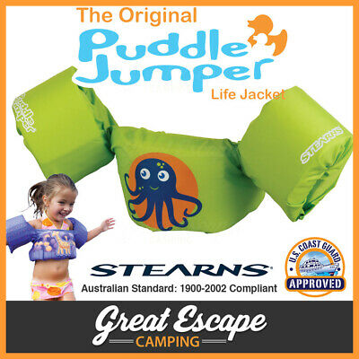FLOATIES STEARNS Octopus PUDDLE JUMPER FLOTATION SWIMMING KIDS VEST LIFE JACKET
