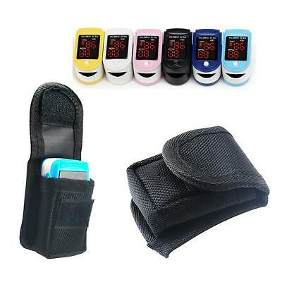 Small  Black portable Carrying pouch/case for Fingertip Pulse Oximeter