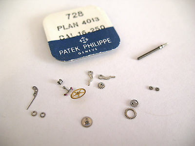 Patek Philippe 16-250 Assorted Watch Movement Parts