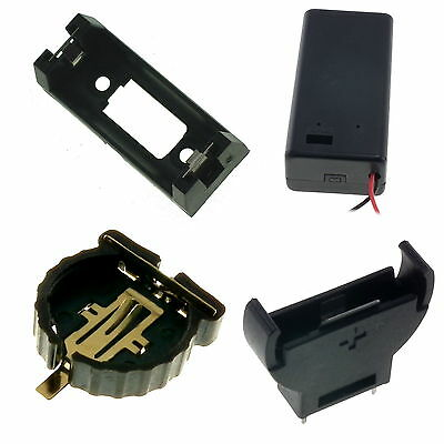 9V PP3, CR2032, CR1220, CR2450, CR123, CR123A, CR1616, C & D Size Battery Holder
