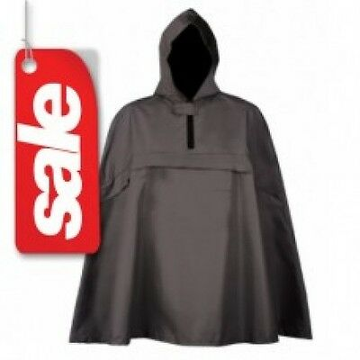 Trekmates Kids Junior Pak Poncho Waterproof Black