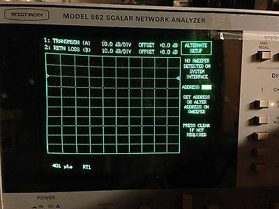 Wiltron 562 Scalar Network Analyzer