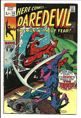Daredevil # 59 (Dec 1969), Fn
