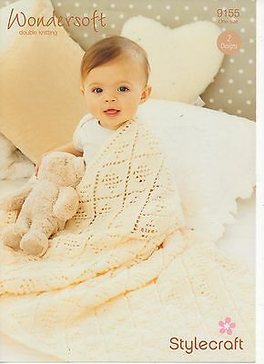 Stylecraft 9155 Baby dk. Knitting Pattern  two Designs  - Not finished Garments