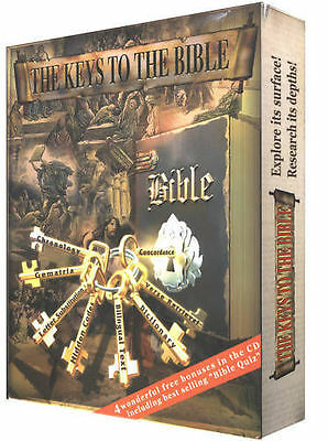 KEYS TO THE BIBLE Software, Torah codes research Complete Koren Tanakh CD