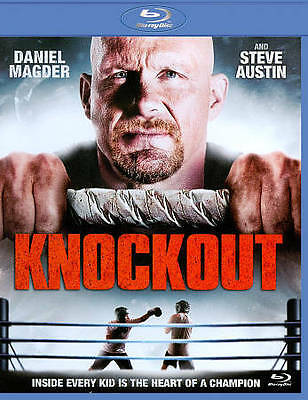 "Knockout (Blu-ray Disc, 2011) Steve (""Stone Cold"") Austin, Daniel Magder BOXING"