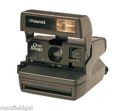 Used Polaroid One Step OR One600 Instant Film Camera w/flash -YOUR CHOICE OF ONE