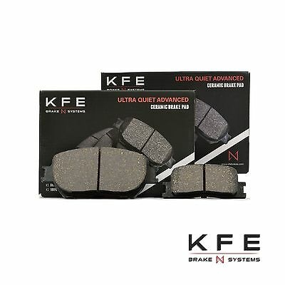 Premium Ceramic Disc Brake Pad FRONT Set Plus Shims KFE866 OPEN BOX