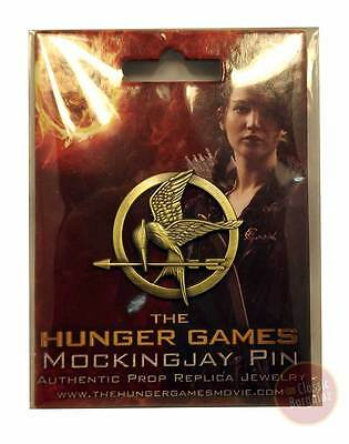 The Hunger Games - Mockingjay Pin Prop Replica NEW * Neca authentic jewelry
