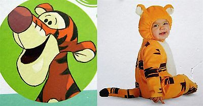 *New* Disney Deluxe Infant Costume-TIGGER-Sizes 6-12 months & 12-18 months