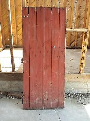 Vintage Salvaged Reclaimed Barn Wood Door