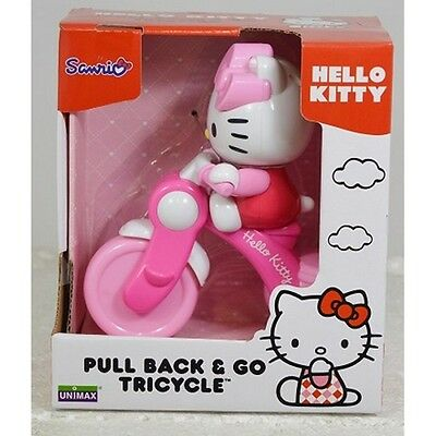 Hello Kitty Pull back & Go Tricycle
