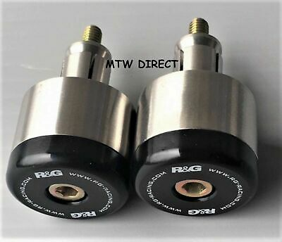 R&G RACING PAIR BAR END SLIDERS BAR END WEIGHTS Yamaha DT125X (All Years)