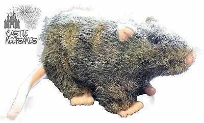Wizarding World Of Harry Potter Scabbers Plush Rons pet Rat Stuffed Toy