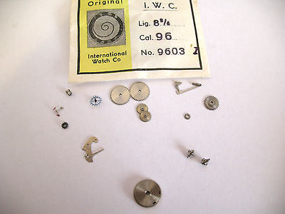 Iwc 96 Assorted New Old Stock Movement Parts