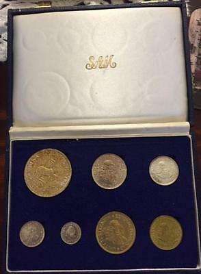 South Africa, Republic, 1964 7 Coin Proof set (Silver) - Proof