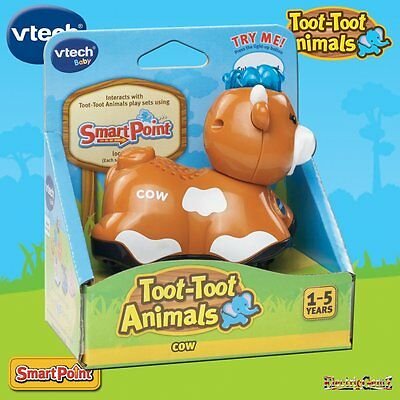 vTech Baby Toot-Toot Farm Animals - Cow with Light and Sound