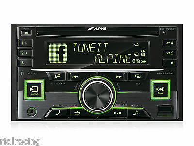 Auto-Radio Cd 2-Din Con Bluetooth Alpine Radio Coche Cde-W296Bt