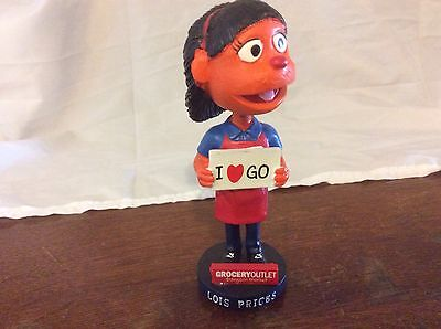 Lois Prices I Love Go Grocery Outlet Bobblehead 2ND Edition 2012