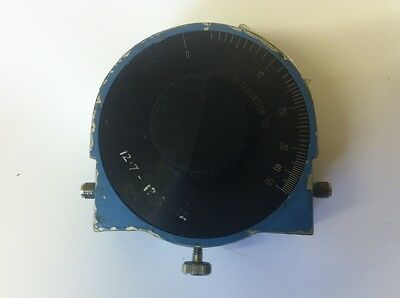 ARRA 0 TO 50dB  12.7 - 13.3 Ghz  ROTARY VARIABLE RF ATTENUATOR      ae1y11
