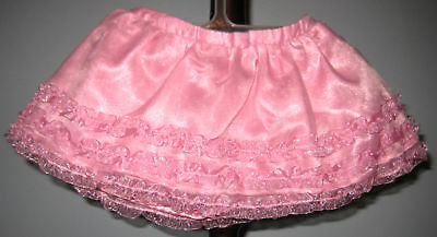New GYMBOREE Girl Size 3-6 Months Pink Tulle Skirt with Shorts