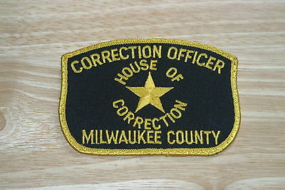 Milwaukee County Corrections Patch -(Discontinued)-