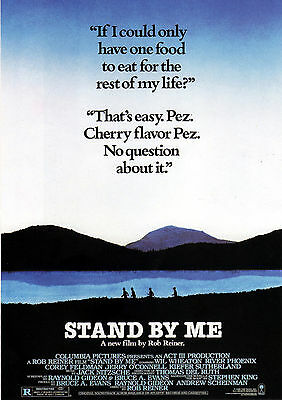 Stand By Me (River Phoenix) Film Poster Print 01
