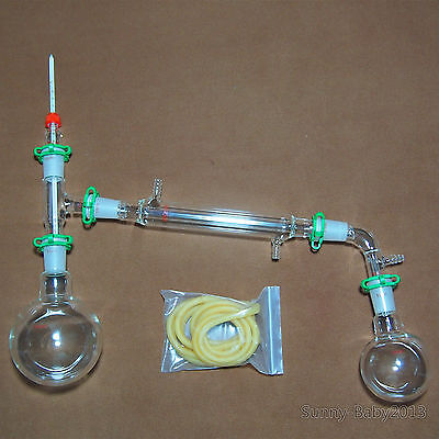 500ml,24/40,New Lab Glassware Kit,Distillation Apparatus,American Grond Joint