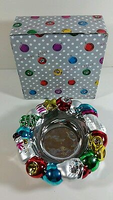 Holiday Dazzle Bowl Christmas Department 56 46106